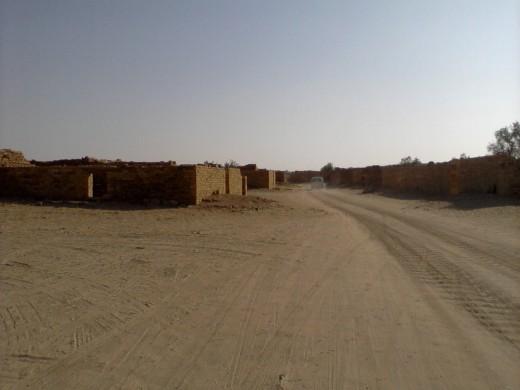 Kuldhara or Haunted village