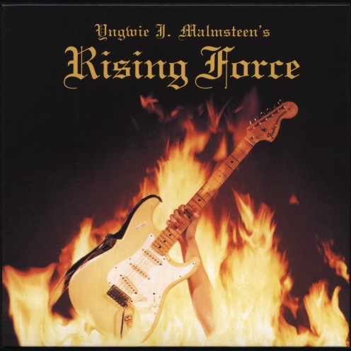 The front cover of the album Rising Force has a symbolic meaning to it. The fire on the cover represents the speed and technicality on the album that is great to listen to even all these years later.