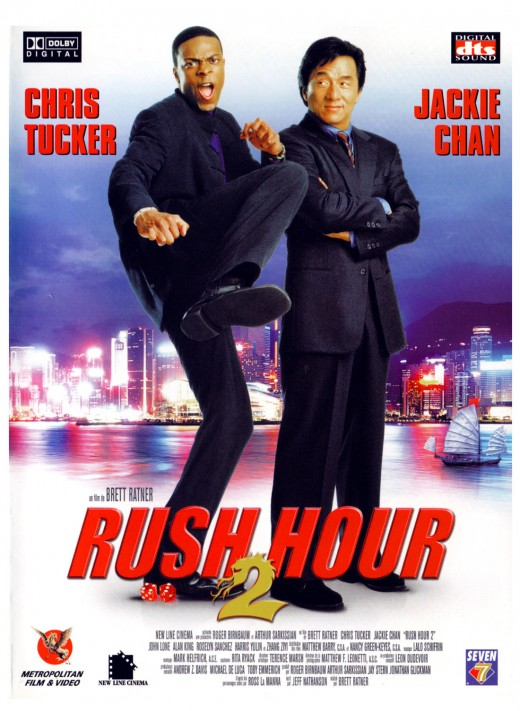 """DVD cover for """"Rush Hour 2"""""""