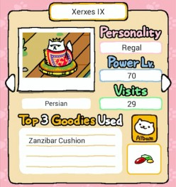 Neko Atsume Kitty Collector: Guide to Rare Cats (Royal Cats Edition)