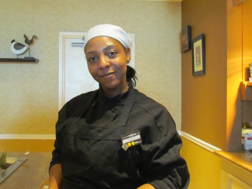 Head Chef Lisa Palmer, has been cooking for more than 18 years.