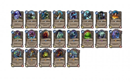 Neutral Curse of Naxxramas cards