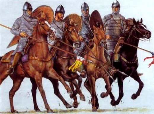 Norman cavalry - numbers could be around 20-35 for a 'conroi', a company of horsemen. Patrols might be less than ten