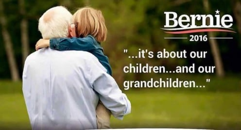 It's about our children and our grandchildren...