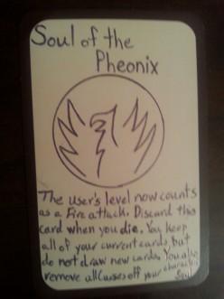 Custom Card Ideas: Soul of the Phoenix