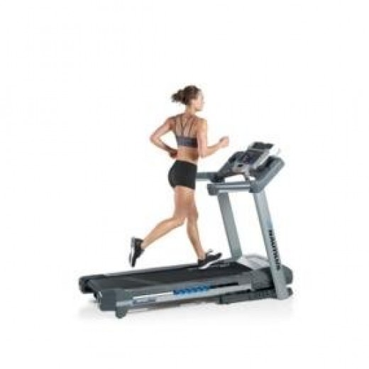 Running on a treadmill is much easier than on a road