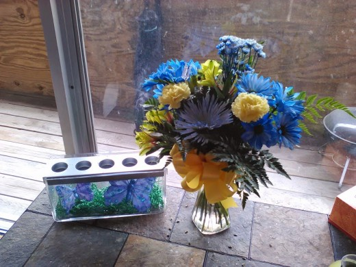 Long-lasting floral arrangements and versatile center pieces provide a great way to change your home environment without spending a lot of money.
