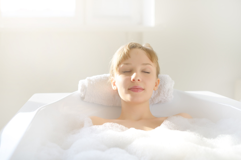 Take a bath using your essential oils and create your own aromatherapy spa