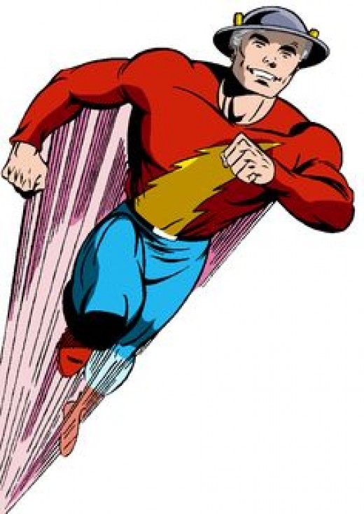 The golden age flash