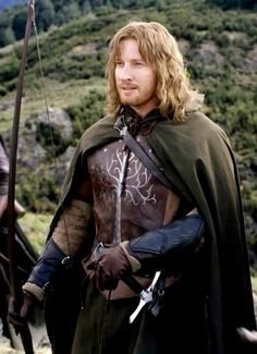Faramir's arm bracers served as the inspiration for mine!