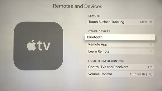 b) From the Remotes and Devices menu, under Other Devices click Bluetooth