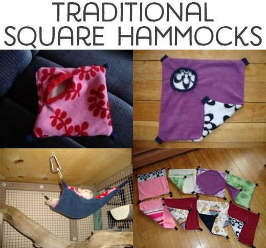 Traditional square hammocks