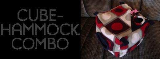 Cube-hammock combo