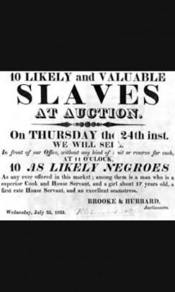 Slavery ( Slavery the birth of Poverty).