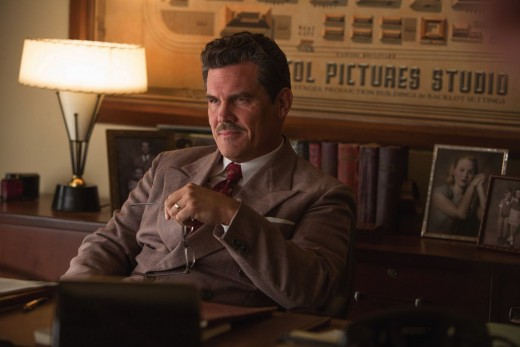 Josh Brolin as Eddie Mannix. Definitely the heart and soul of the movie. He's in it about 80-90% of it and makes every second count.