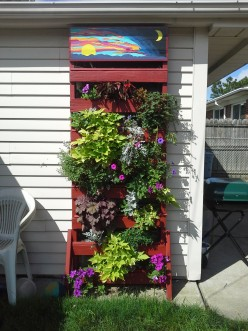 DIY, Fabulous Planter from Recycled Pallet