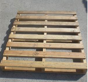 A pallet before