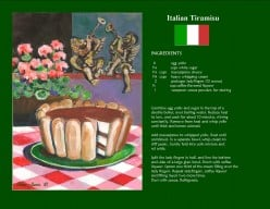 Creating Italy's Favorite Dessert, Tiramisu