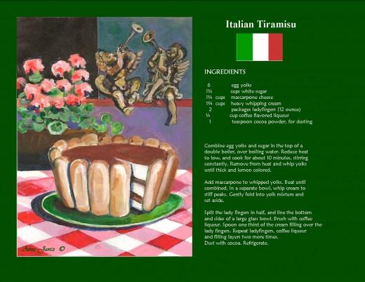 A Page from My International Dessert Calendar