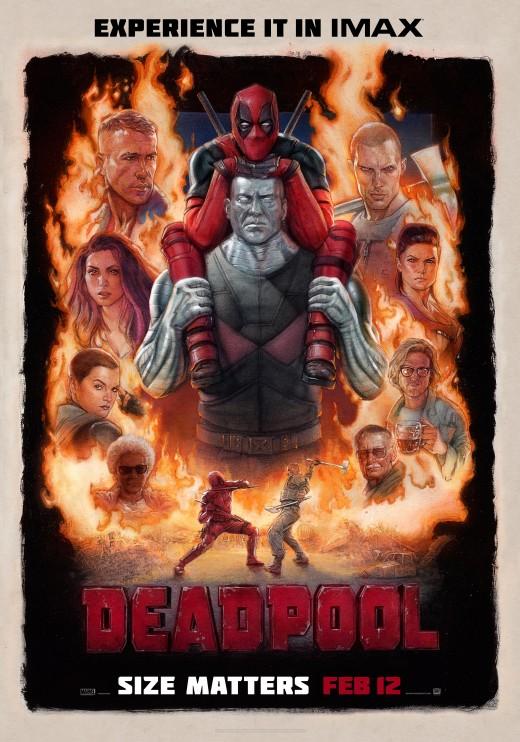Film poster for Deadpool