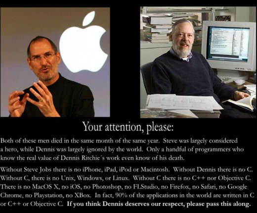 Jobs vs.Ritchie