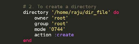 Figure 3.2: Code for directory creation