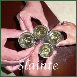 St Patrick's Day Shots and Shooters