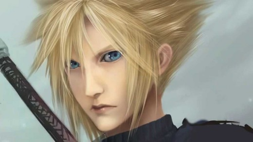 Cloud's Blue Steel Face