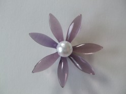 Here is the result: A beautiful dagger beads flower.