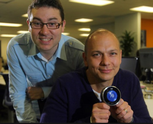 Matt Rogers and Tony Fadell were both Apple engineers before they founded Nest Labs