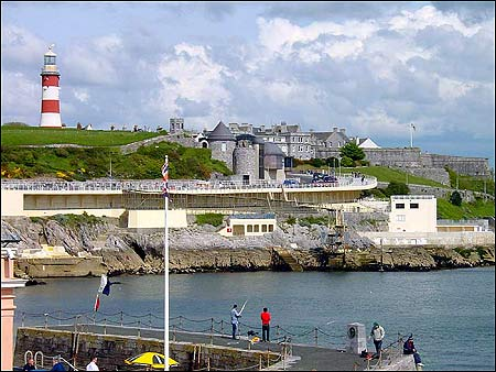 A day on  Plymouth Hoe is a  must
