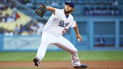 Ace of the Los Angeles Dodgers, Clayton Kershaw.