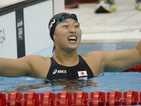 Satomi Suzuki feeling great about having done well.