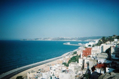 Tangier, in  Morocco is one of the Mediterranean's most important ports
