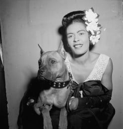 Billie Holiday sings they can't take that away from me.