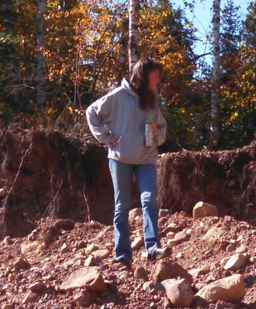Me some 35 years later at a county gravel pit armed with coffee and curiosity.