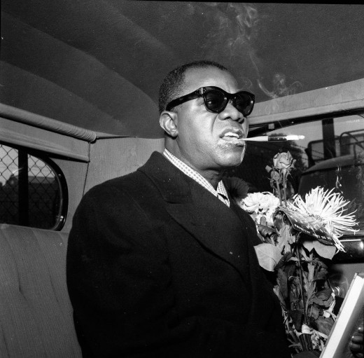Louis Armstrong long time user and defender of marijuana