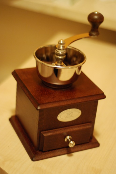 #7   Old Peugeot coffee grinder