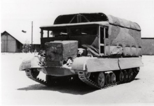 Classed as 'Sunshield Prototype' this disguised tank might not pull the wool over your eyes, but to someone miles away with binocculars, or high ip in the air in a plane... Think again
