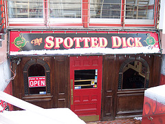 A Homage to Spotted Dick (though a little Down Market!)......All photos courtesy Flickr