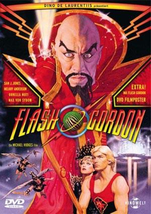 "DVD cover for ""Flash Gordon"""