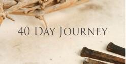 Lenten Journey - Day 8