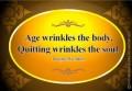 Growing Older; Glowing Wiser.