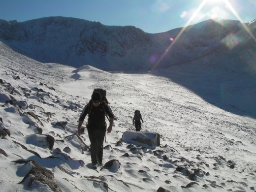 Winter Mountaineering in the Scottish Highlands