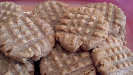 Quick and Easy Sugar-free Peanut Butter Cookies