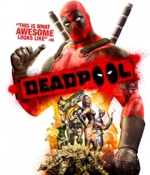 That's a picture of Deadpool, right