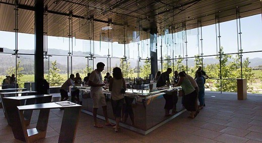 Inside Hall Winery