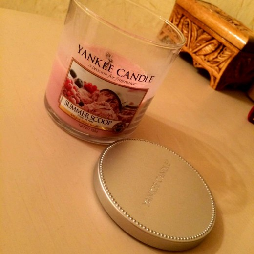 Summer Scoop of the Yankee Candle