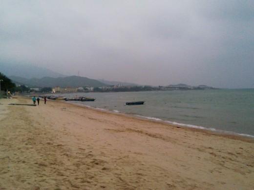 Xichong Beach at daybreak