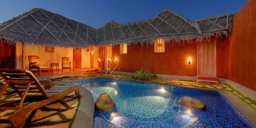 Orange County - Pool hut